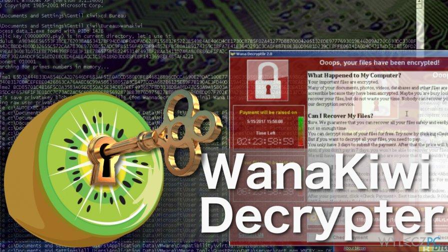 Jak odzyskać pliki zaszyfrowane przez Wannacry z pomocą dekryptera Wanakiwi?
