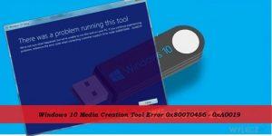 Jak naprawić błąd Windows 10 Media Creation Tool o kodzie 0x80070456 - 0xA0019?
