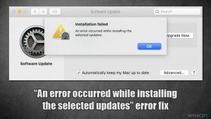 Błąd MacOS Big Sur ''Wystąpił błąd podczas instalowania wybranych aktualizacji'' – jak go naprawić?