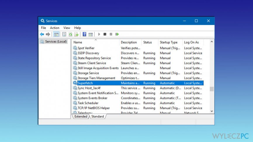 How to fix Svchost.exe Service host: Local system (Network restricted)?