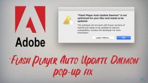 """Jak naprawić wyskakujące okienko """"Flash Player Auto Update Daemon"""" na Mac'u?"""