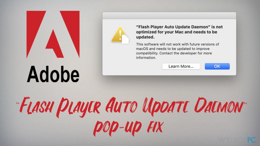 """Flash Player Auto Update Daemon"" fix"