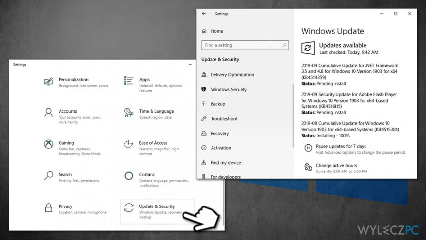 Update Windows OS