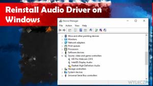Jak zreinstalować sterowniki dźwiękowe w systemie Windows 10?
