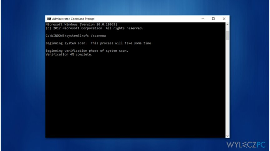 "Use command prompt commands to fix ""The remote procedure call failed and did not execute"" issue"
