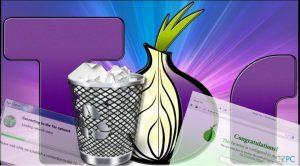 Jak odinstalować przeglądarkę Tor Browser?