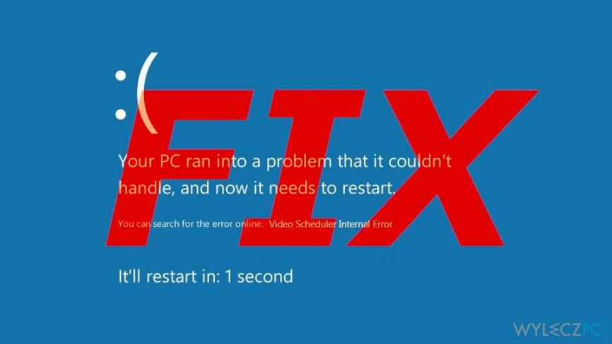 Error 0x119: VIDEO_SCHEDULER_INTERNAL_ERROR fix