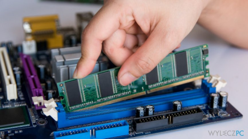 Replace faulty hardware