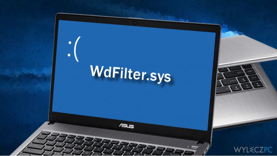 Illustrating WdFilter.sys blue screen